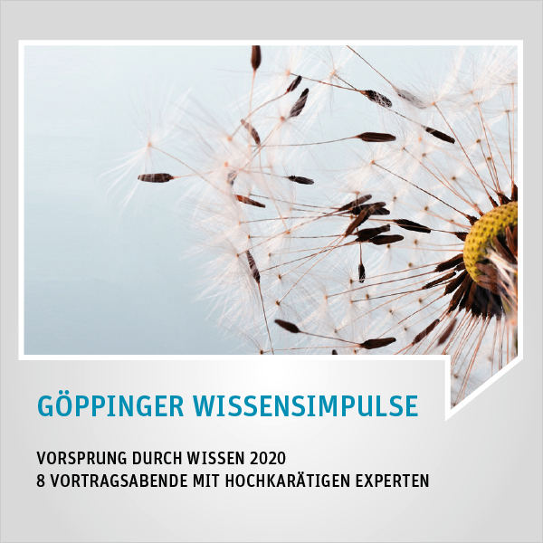 GÖPPINGER WISSENSIMPULSE 2020