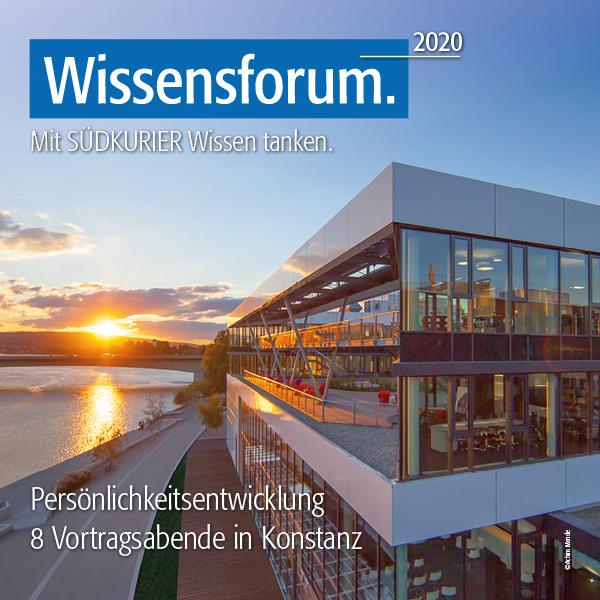 Wissensforum.2020 - Mit dem SÜDKURIER Wissen tanken