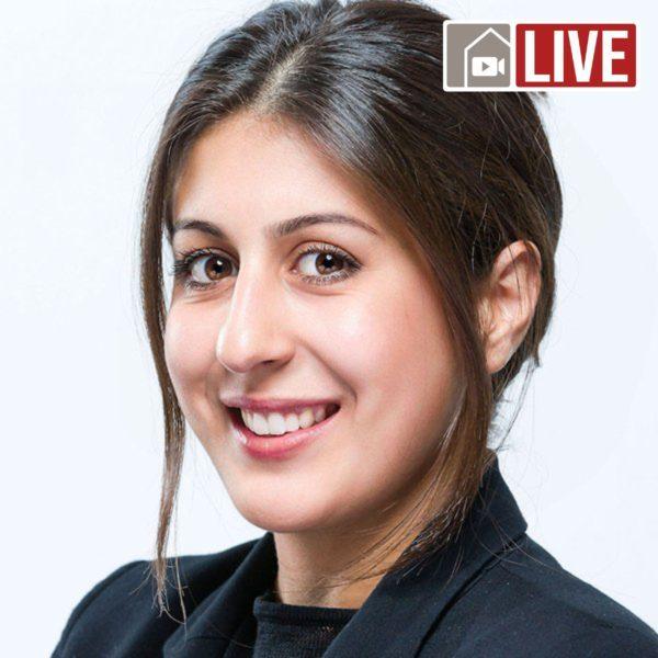 Mahsa Amoudadashi Livestream