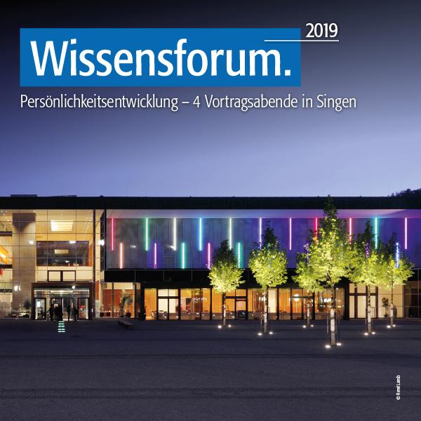 Wissensforum 2019 – Mit SÜDKURIER Wissen tanken