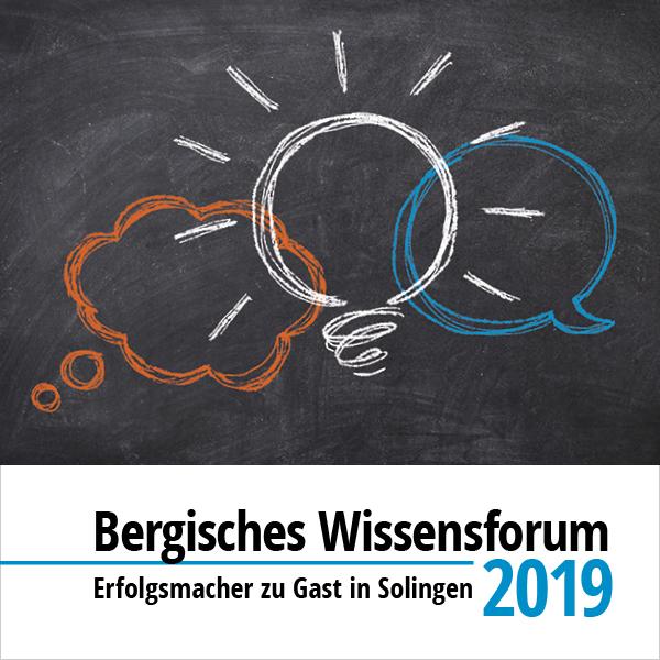 Bergisches Wissensforum 2019
